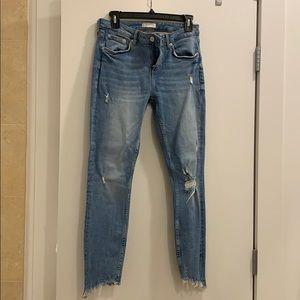 Ripped Zara Skinny Jeans